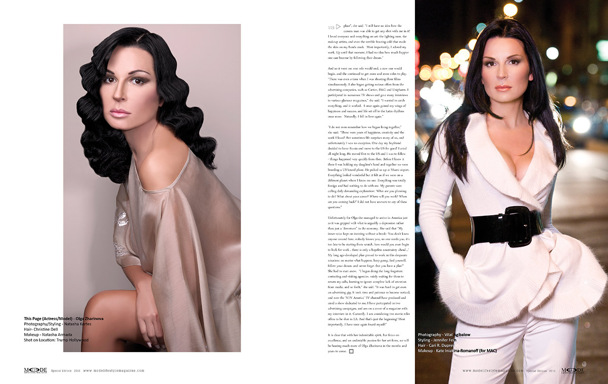 Making of Olga Zharinova - Pages 116-117