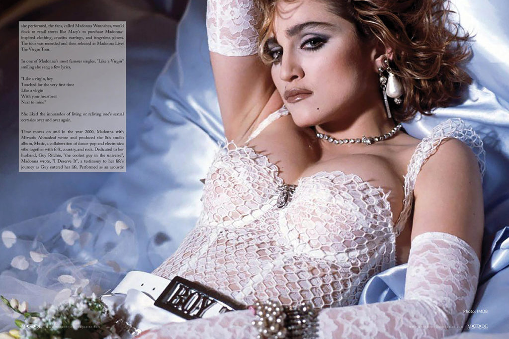 Madonna - Madam X - MODE-Art-Issue 2019 - Pages 46-47