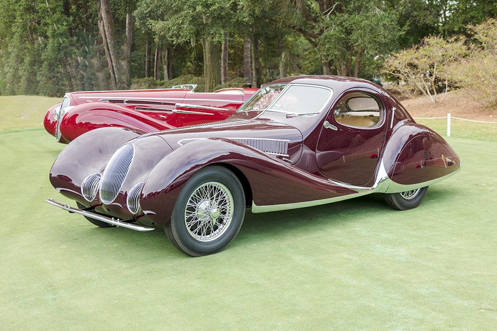 Magenta 1937 Tabot-Lago Type 150 C-S