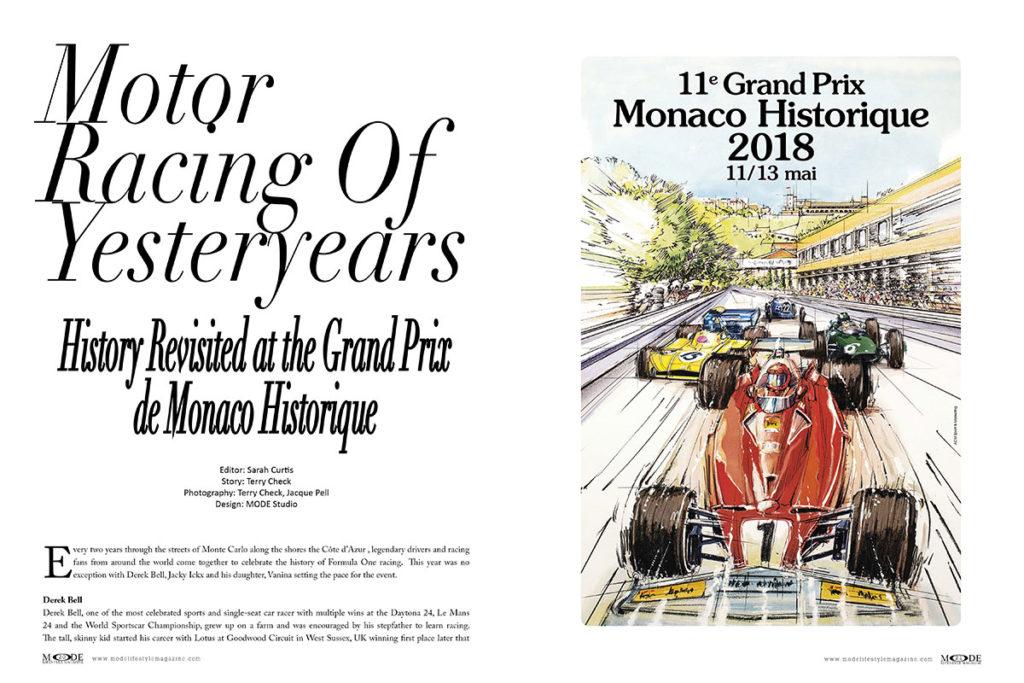 Monaco Grand Prix - MODE 20th-Anniversary Luxury Edition - Spread Pages-20-21