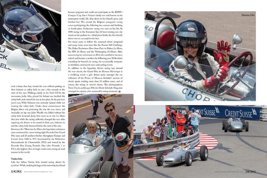 Monaco Grand Prix - MODE 20th-Anniversary Luxury Edition - Spread Pages-26-27