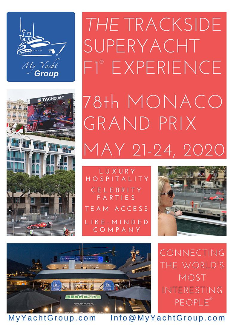 MyYachtGroup Monaco Grand Prix 2020