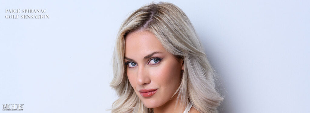 Paige Spiranac - Golf Sensation: MODE Cover - Reasons To Be Thankful Edition 2021