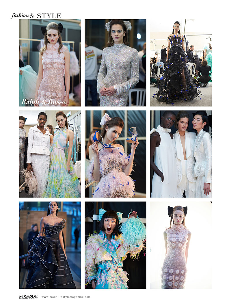 """Ralph & Russo - Spring Summer 2020 - Haute Couture Fashion Week - Mode Lifestyle Magazine """"Living A Full Life"""" Issue 2020: Page 64"""