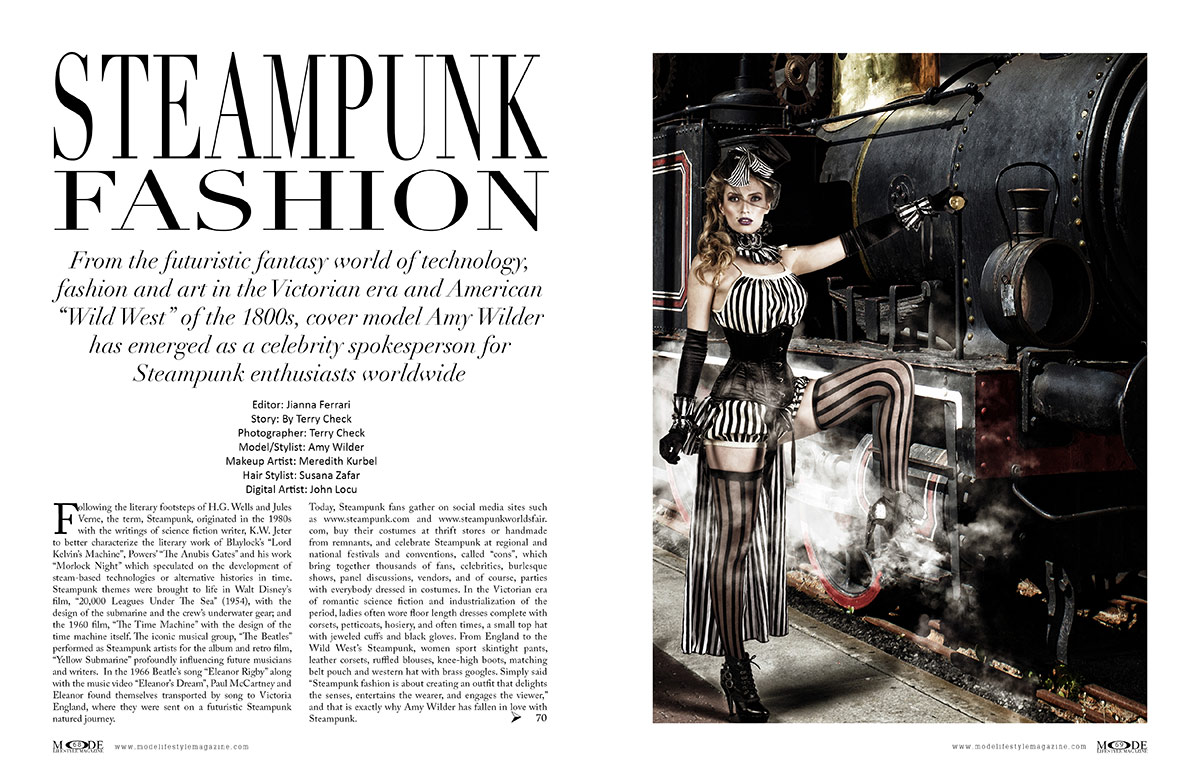 Steampunk Fashion - MODE Life Hopes and Dreams 2020 - Page 68-69