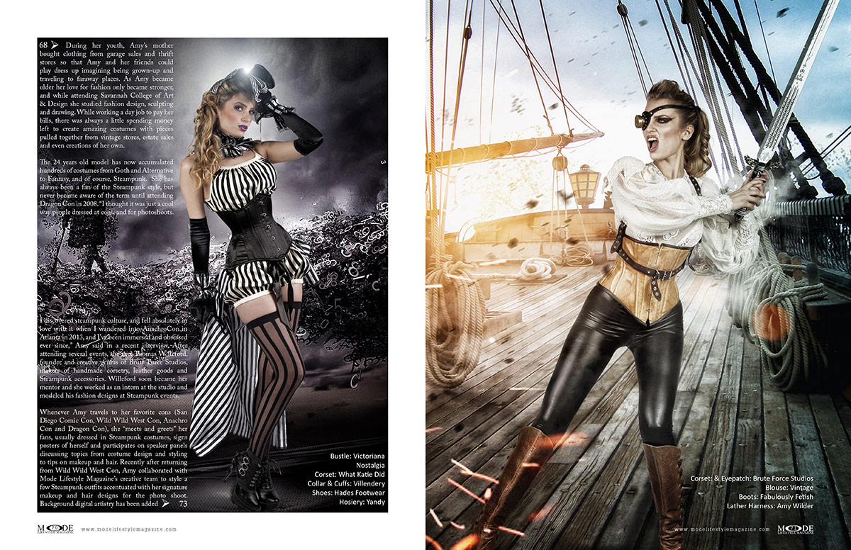 Steampunk Fashion - MODE Life Hopes and Dreams 2020 - Page 70-71