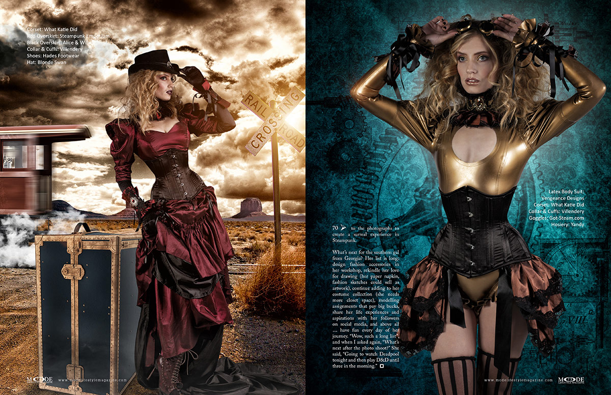 Steampunk Fashion - MODE Life Hopes and Dreams 2020 - Page 72-73