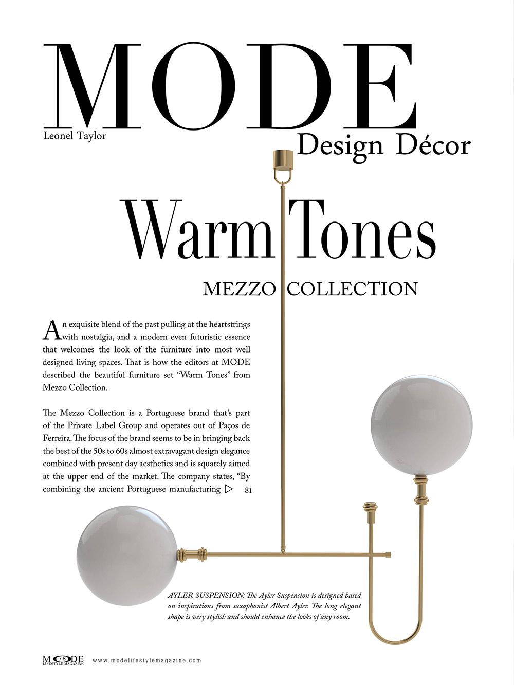 Warm Tones - Mezzo Collection