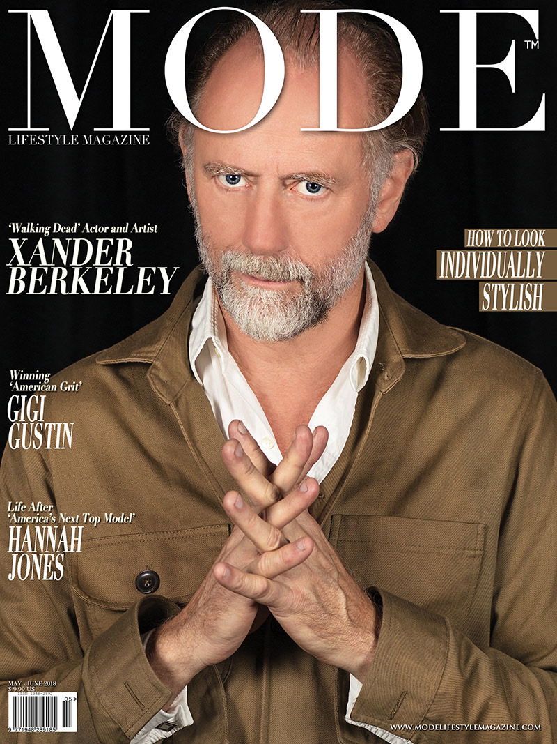Xander Berkeley - MODE Cover, May-June 2018