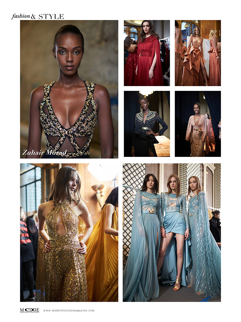 "Zuhair Murad - Spring Summer 2020 Haute Couture Fashion Week - Mode Lifestyle Magazine ""Living A Full Life"" Issue 2020 Page: 78"