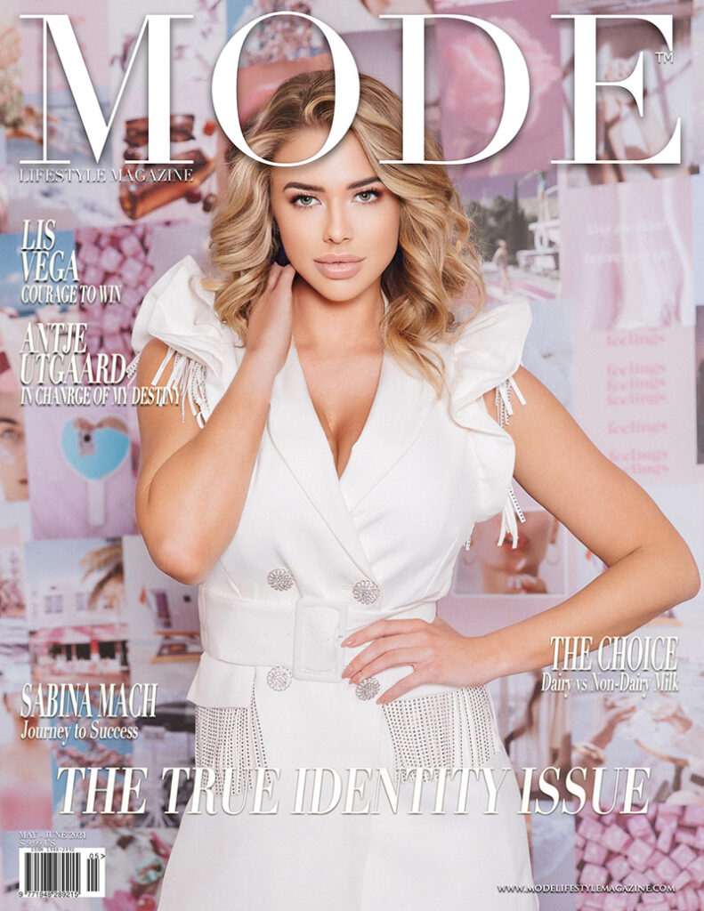 Antje Utgaard MODE Cover - The True Identity Issue 2021