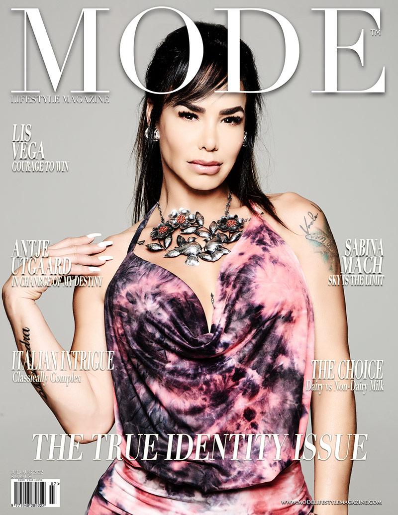 Lis Vega MODE Cover - The True Identity Issue