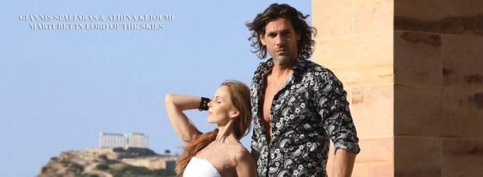 Giannis Spaliaras and Athina Klioumi Marturet MODE Cover Feature
